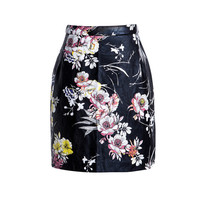 Hot sell fashion mature women short skirt