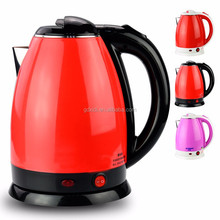 plastic and stainless steel mini electric travel kettle
