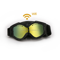 Hot product full hd 1440*1080p smart sunglasses skiing goggles camera with wifi