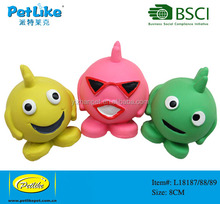 Puppy DOg Toy Soft Squeaky ball Vary Color