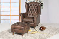 Living Room Furniture Leisure Chair with ottoman A15-C