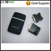 82 USB 2.0 To VGA/DVI/HD Multi-Display Adapter Converter