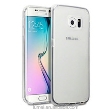 Ultra Slim Transparent Clear TPU Gel Case and Screen Protector For Samsung Galaxy S6