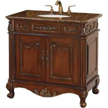 Antique Solid Wood Bathroom Vanity_WN-4024