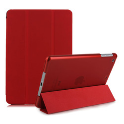 Ultra slim case for ipad mini with back crystal cover