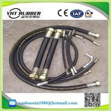 high pressure stainless steel wire braided oxygen ,acetylene,fire sprinkler,sandblast ,welding ,marine flexible industrial hose