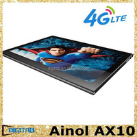 10.1 inch Ainol AX10 Android 4.4 OS 4G Network Tablet MTK8732 Quad Core RAM 1G ROM 8G 64 bit 4G FDD-LTE Tablet pc