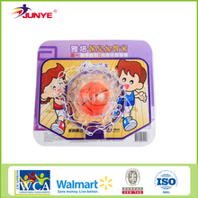 Junye wholesale childrens plastic basketball ring and board kids basketball