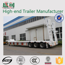 Reasonable Design Low Chassis Low Body Low Bed Semi Trailer