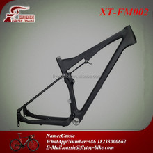 New Model Full Suspension 26er MTB Frame Carbon Mountain Bike Frame 26er FM002