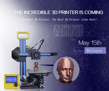 High speed WER Large 3D Printer Build Size 458*305*508 mm with 3 kg filament