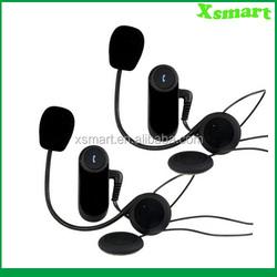 FM radio Bluetooth Motorbike Motorcycle Helmet Intercom Headset