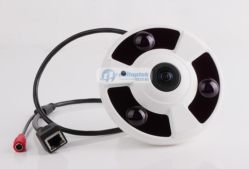 1080 P Full HD рыбий глаз панорама IP камера с POE порта 2MP 360 град. широкий угол камеры видеонаблюдения камера ночного видени