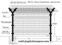 alibaba factory for Wire mesh fencing with Y post, 2015 hot product made in china