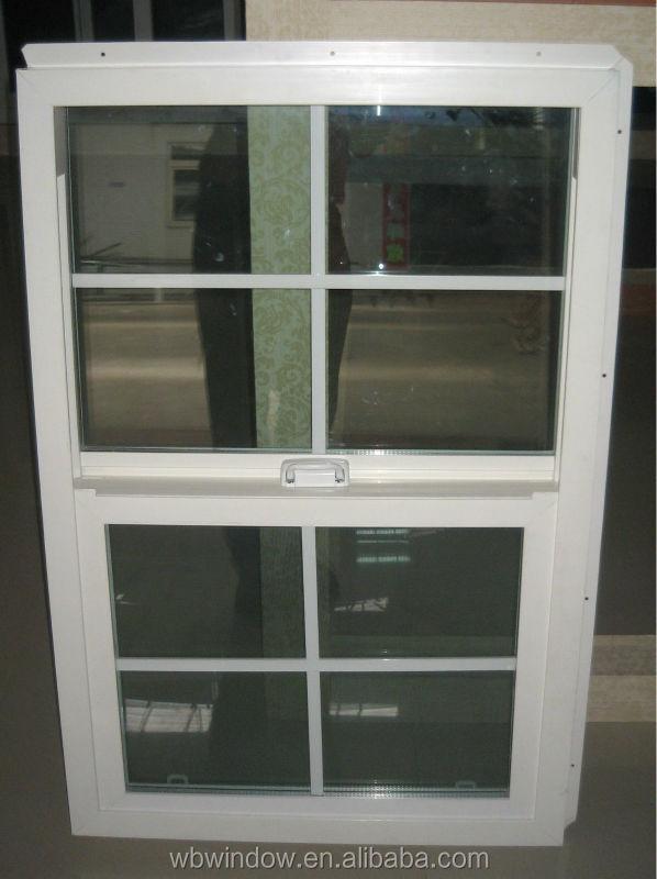 Dubbel opgehangen buck met vinyl venster grill ontwerp for Vinyl window designs ltd