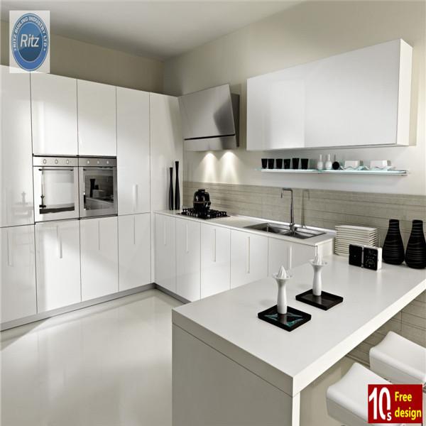 European style high gloss modern kitchen designbest for European style modern high gloss kitchen cabinets