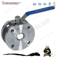 China proffessinoally manufacture 1pc wafer end FP super short ball valve