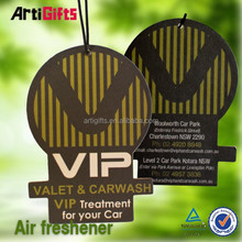 2015 newest style absorbent new design auto perfume paper air freshener