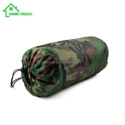 camouflage sleeping bag for children new design envelope baby cotton sleeping bag