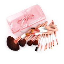 18pcs high quality make up brush set for lip,eye shadow,blush,powder and so on