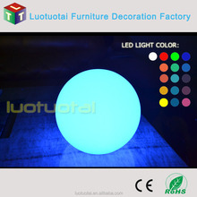 Floating event stage decorations fashionable led ball christmas products led ball rechargeable light