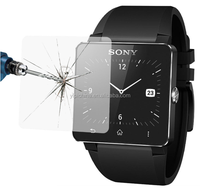 China supplier otao 9h explosion -proof anti scratch tempered glass screen protector for Sony Smart Watch 2