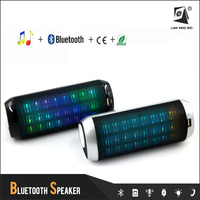 T2219A 2015 best vibration speaker portable mini bluetooth speaker led light