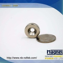 Super Strong 13000 Gauss Permanent Neodymium Magnet Composite Industrial Application