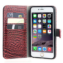 Shell detachable wallet mobile phone bag for iphone 6 plus