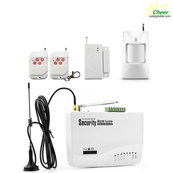 wireless GSM alarm system security home kits GS-GH3