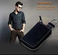 Beautiful auto key wallet, Flower printing car key bag / cover/ holder for smart key