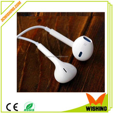 2015 Low Price In-Ear Earphone Remote Mic Volume For Phone