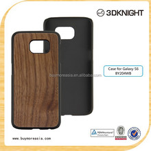 smart phone case custom wood hard case for Samsung Galaxy S6 china phone case manufacturer
