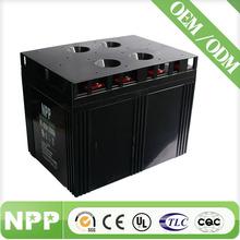 2v2000ah 2 volt long life sealed lead acid battery