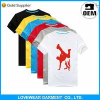 Cheap price good quality OEM custom print plain white t shirt