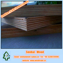 Waterproof Concrete Plywood for Formwork with poplar and hardwood core