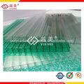 YUEMEI precios policarbonato transparente de buena calidad.hoja con huecos del policarbonato alveolar