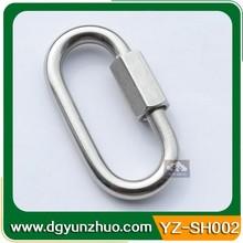 Stainless steel snap hook for camera bag, metal snap hook