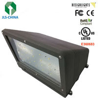40W UL DLC Full Cut LED Wall packs Wiht Meanwell driver&Cree Chips