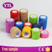 Wound Care Self Rescue Hot Selling Cohesive Elastic Bandage
