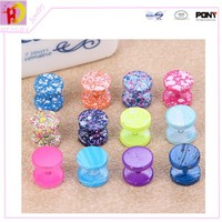 2015 fashion Wholesale ball & star lip/ Belly Button Navel earring Body Piercing