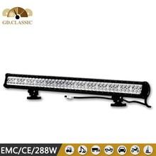 Dustproof Waterproof Best Performance 288w Build Led Light Bar KR9022-288