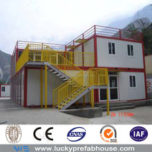 insulated china prefab steel flatpack container house