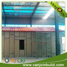Diseño moderno que vive casa de madera