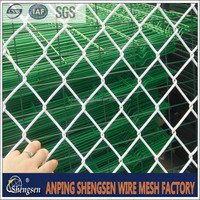 chain link fence extensions/used chain link fence post/SGS certificate
