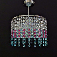 decorative pendant light wire,RoHS round stainless pendant lamp,double color hanging light