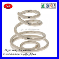 Brass AA battery Spring Contacts for compartments from Dongguan spring products manufacturer
