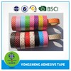 Customized high quality decorative adhesive tape manufacture