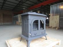 Antiguo decorativa de hierro fundido estufa de leña para la venta