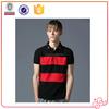 2015 new design Men striped polo shirt Cheapest Polo men shirt